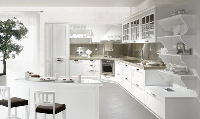 Cucine e dintorni cucine componibili produttori e for Cucine berloni roma