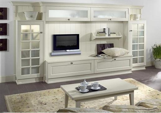 Miarte cucine moderne classiche su misura mobili per - Parete attrezzata classica bianca ...