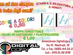 DIGITAL COPY DI ANTONIO BRUNO - Cancelleria,Copisterie - Cerignola (Foggia)