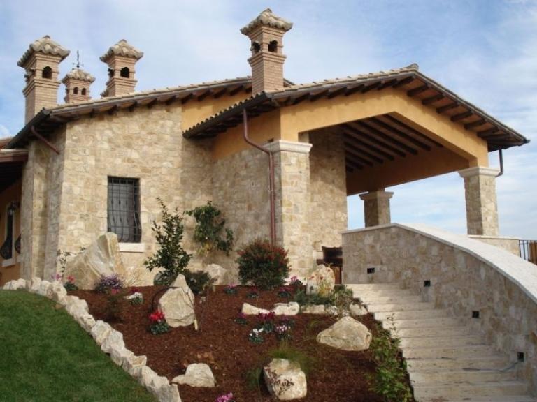 Rivestimento Esterno Casa : Casa rivestita in pietra consigli per scegliere il rivestimento