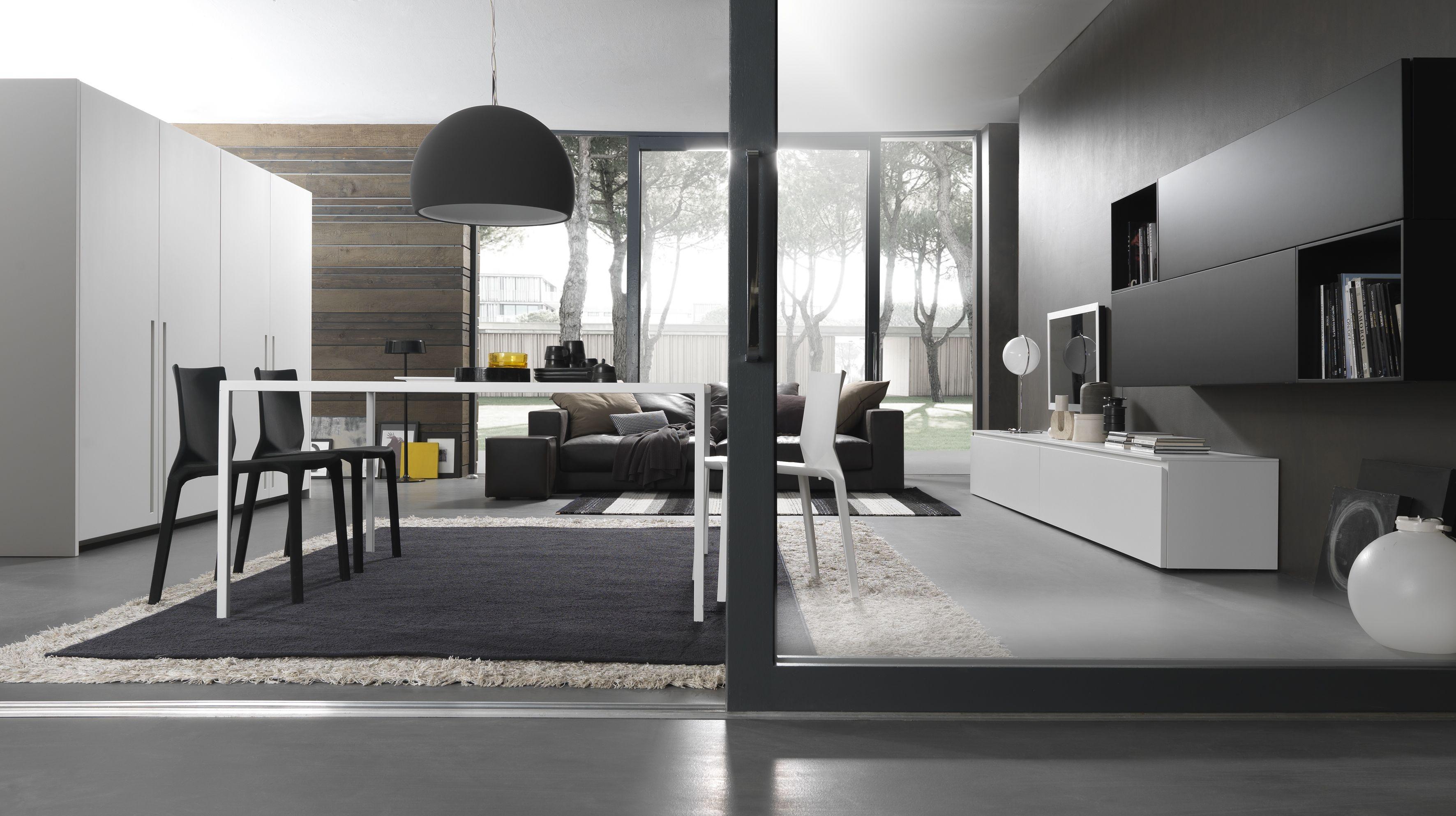 Arredamenti interni moderni presotto parete oasi with for Arredamento moderno genova