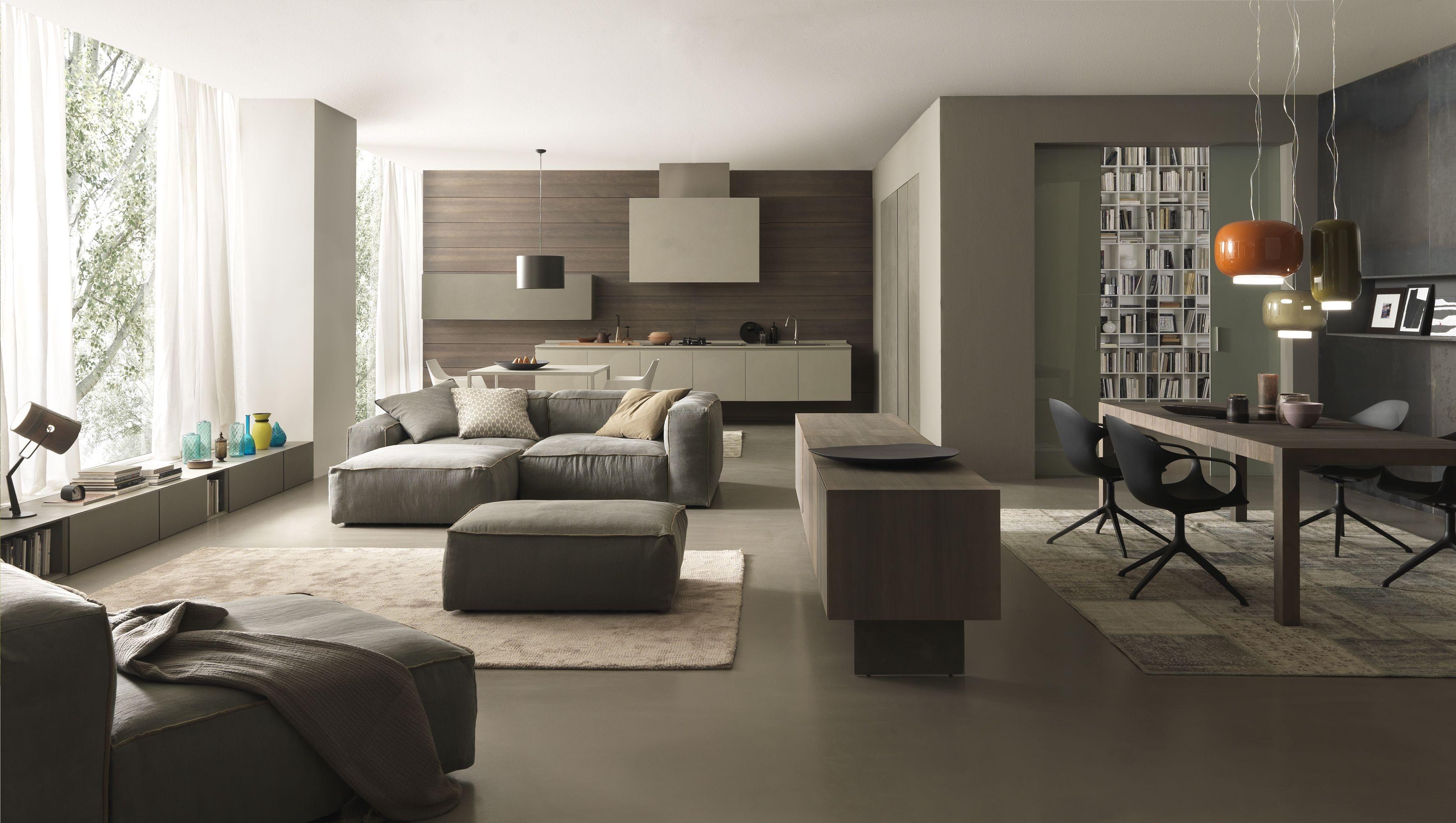 Progettazione arredamento di interni a genova arte in for Arredamento moderno casa
