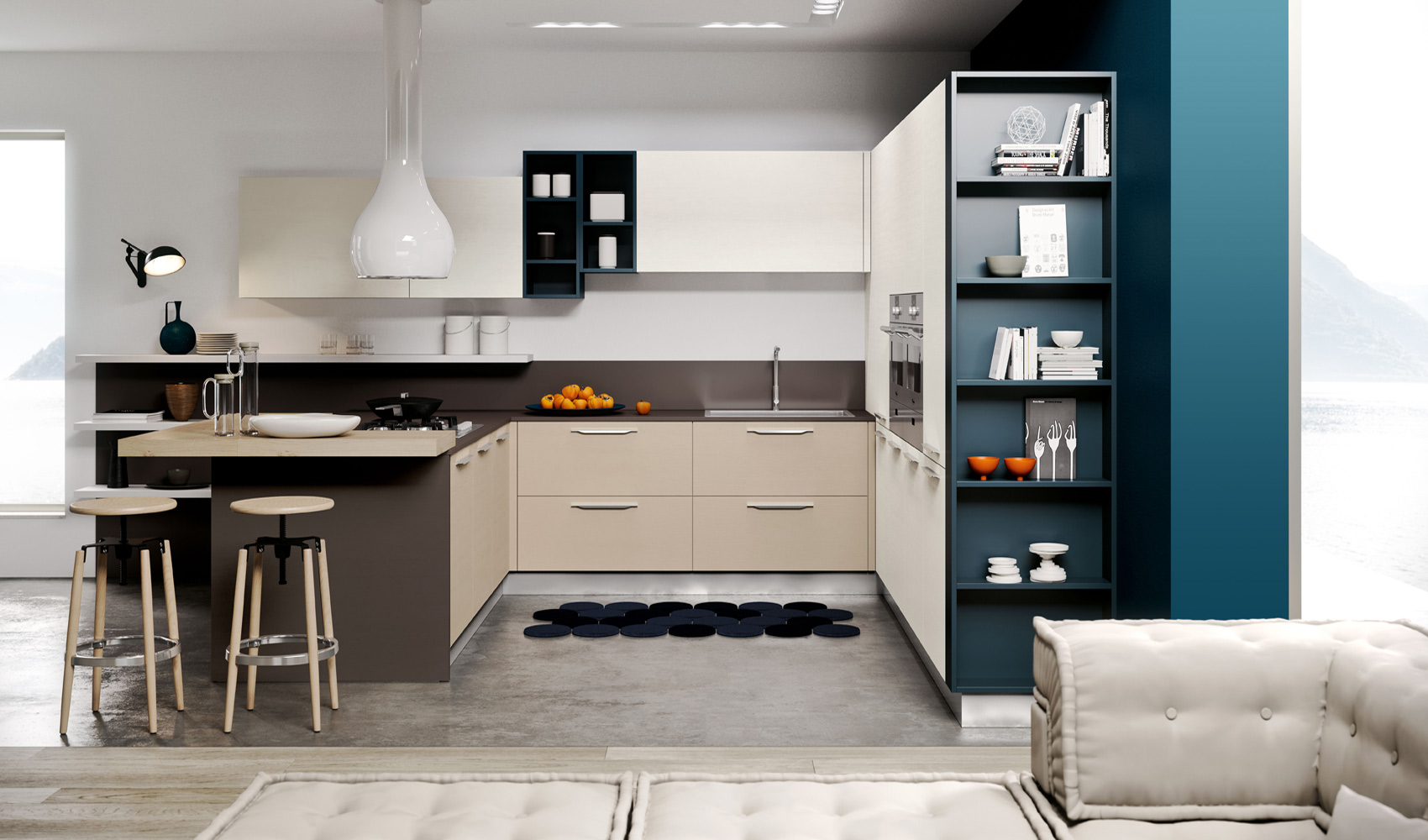 Arredamento cortona mobili palini e pieroni overplace - Preventivo cucina mondo convenienza ...
