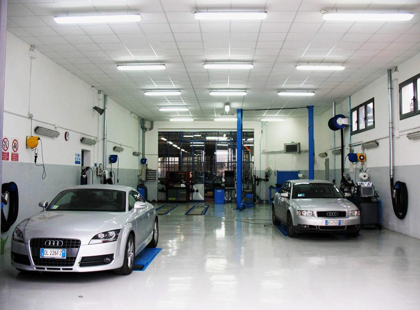 Officina e vendita auto calcinaia carrozzeria tiglio for Posto auto coperto con officina annessa